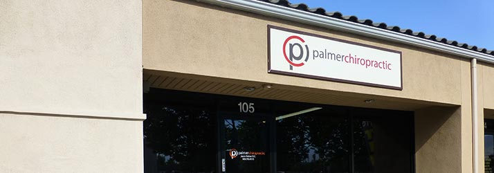 Chiropractic Redlands CA Palmer Chiropractic Office Exterior Sign